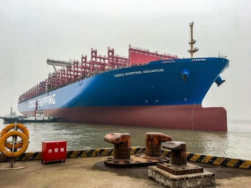 Successful launch of Nacks 4th 20000 TEU Container Ship